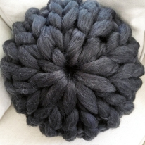 Arm Knitted Pillow